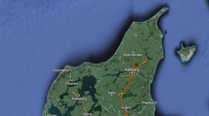 Aalborg, Frederikshavn, Skagen og Nordjylland