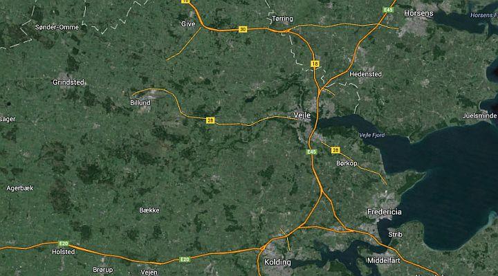 Vejle, Kolding, Fredericia og Trekantsområdet