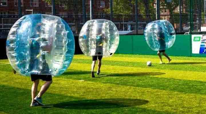 BUMBER BALL, FUNBALLZ, BUMPERZ OG BOBLEFODBOLD