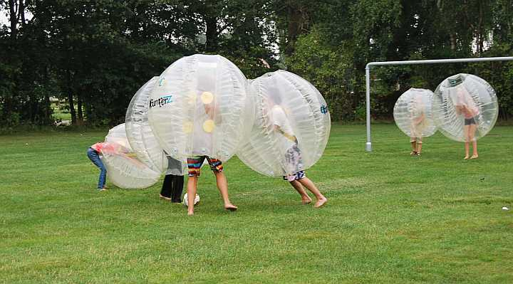 Bumper balls, Bumperz, Funballz og boblefodbold