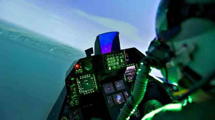 F16 simulator Århus og Roskilde