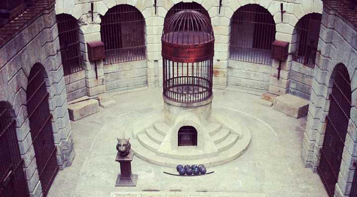 Fangerne på fortet