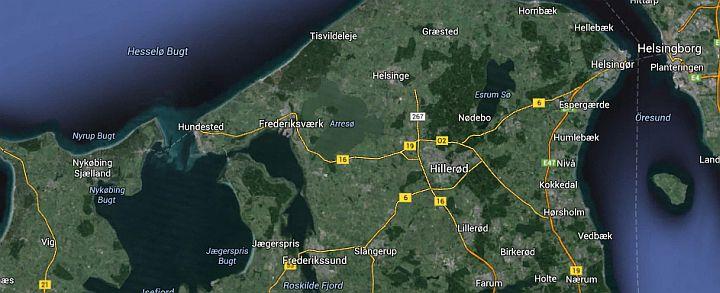 Ridning på Nordsjælland