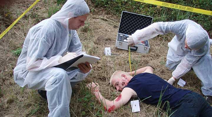 Opklar et mord