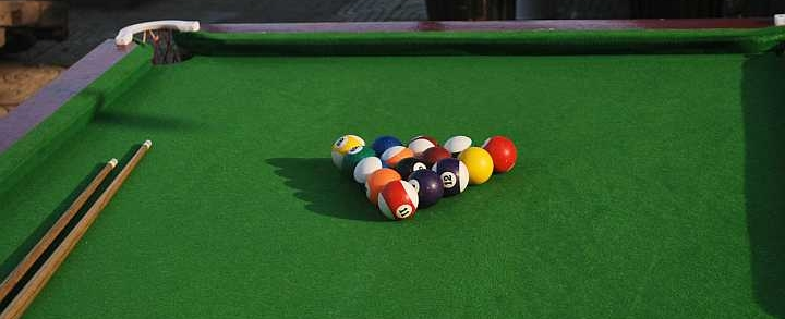 Se alt billiard, pool og snooker
