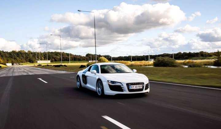Audi R8 kør selv