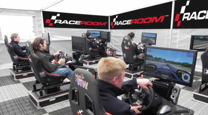RaceRoom Racing simulator