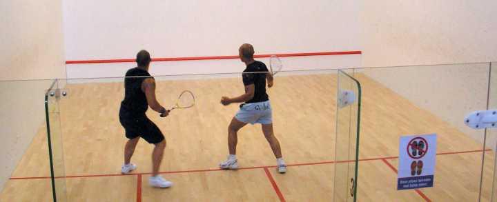 Squash og squashbaner i Danmark