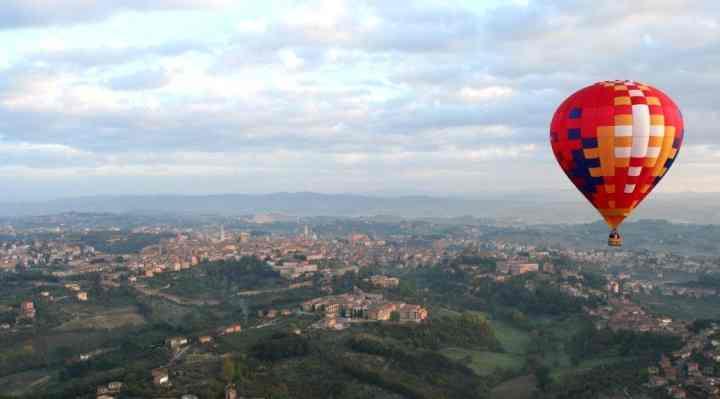 Ballonflyvning, luftballon og varmluftballon