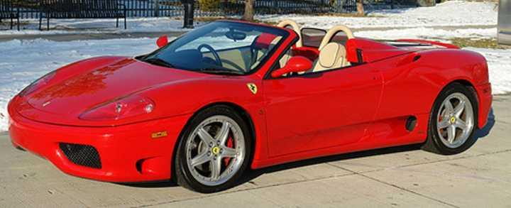 Kør en Ferrari