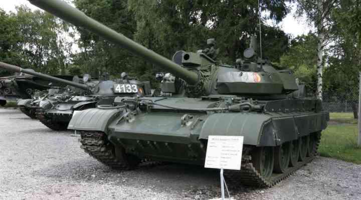 Panzermuseum med kampvogne