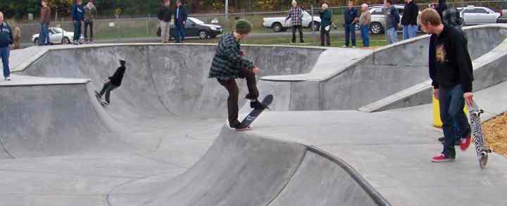 skatepark og skatehal