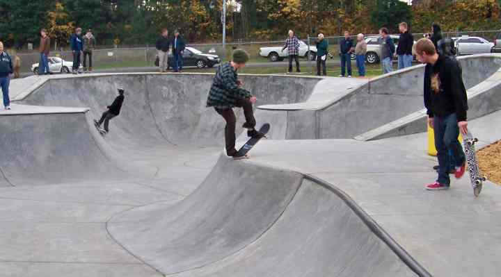 skateparker og skatehaller