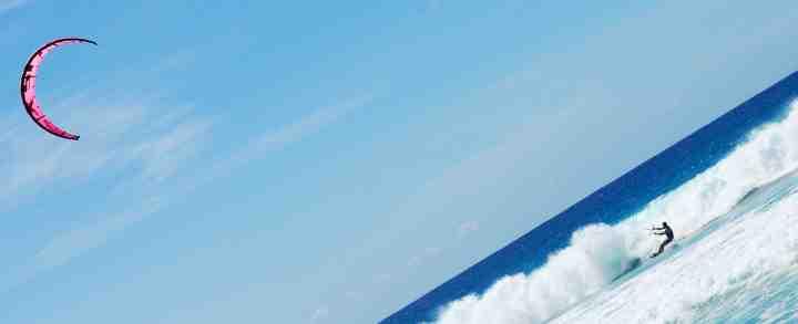 Kitesurfing og Kitesurfingkursus