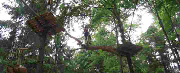 Klatring, klatrepark og rapelling