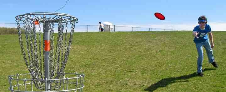 Frisbeegolf & discgolf