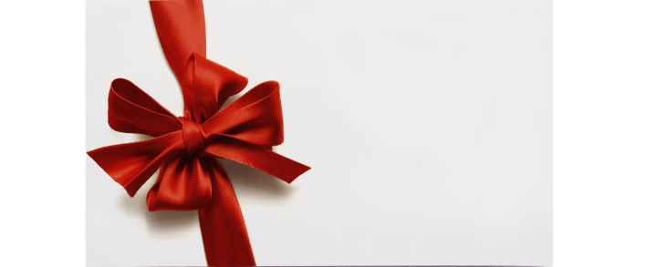 Oplevelsesgaver og gavekort