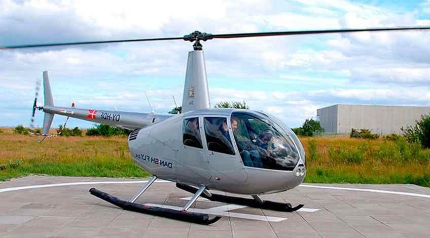Helikoptertur København med DanishFly