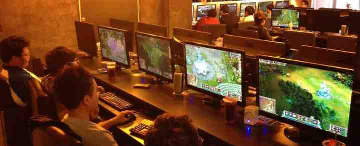 Netcafe, internet cafe og Gaming