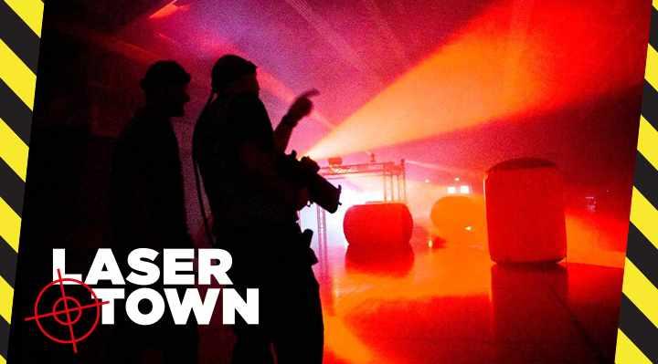 Laser-Town - Lasergame og Lasertag