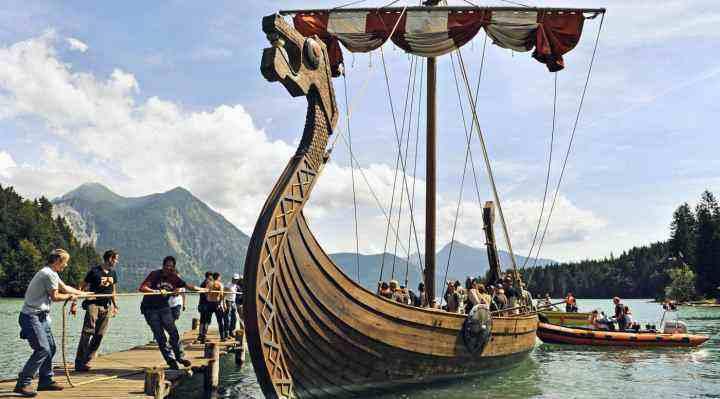 Sejl vikingskib