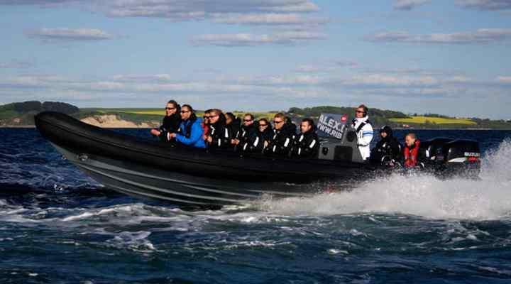 Rib-Alex-Tur på Øresund