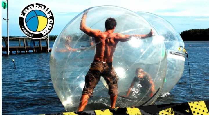 Gå på vandet med Waterballz