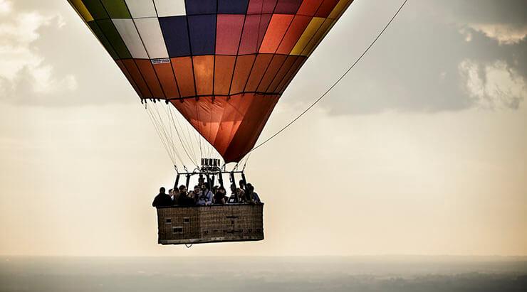 Ballonflyvning i Danmark med Dreamballoon