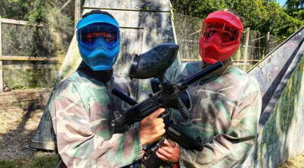 Shoot to thrill Paintball