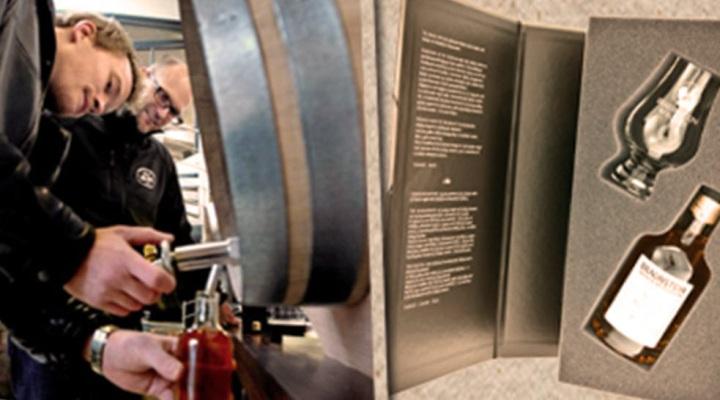 Fyld din egen flaske whisky hos Braunstein i Køge