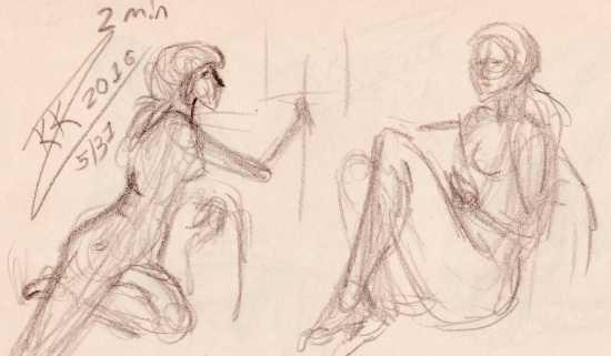 Croquistegning lær at tegne