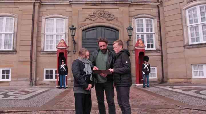 Mordet ved Amalienborg Slot