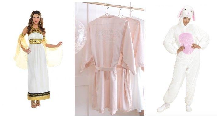 polterabend-kostume-udklædning-gudinde-kåbe-lyserød-kanin
