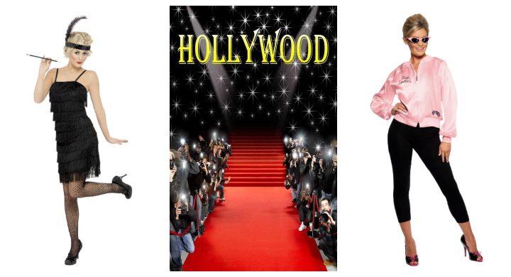 polterabend-kvinder-kostume-udklædning-hollywood-charleston-grease-pink-lady