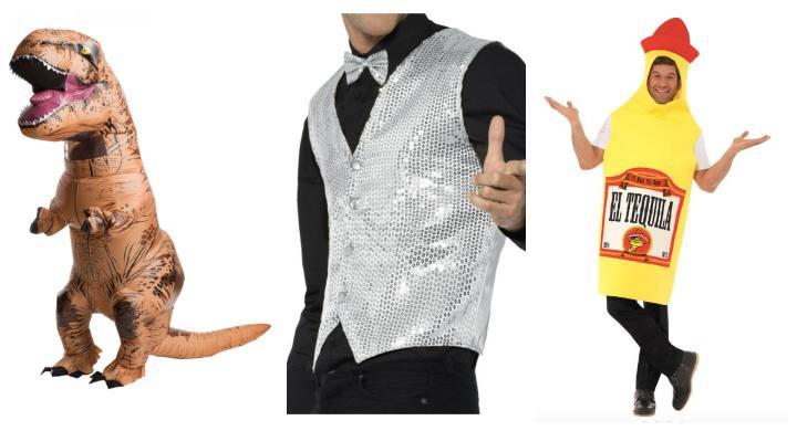 polterabend-mænd-udklædning-kostume-dinosaur-vest-glimmer-tequila