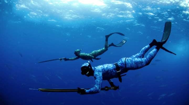 Undervandsjagt Amager Kiteskole